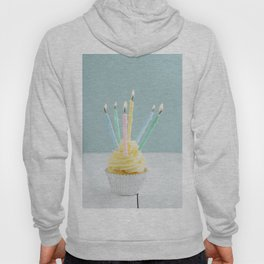 Cupcake with candles Hoody