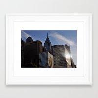 philadelphia Framed Art Prints featuring Philadelphia by Jérémy Boes