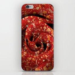 Vintage Lava Rose iPhone Skin