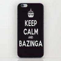 bazinga iPhone & iPod Skins featuring Bazinga by S.YassinPhotography
