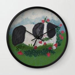 Cute guinea pig Wall Clock