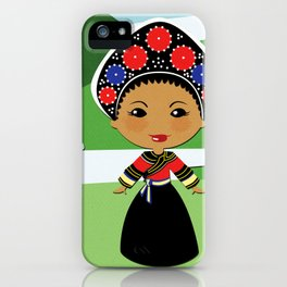 Girls of the World: Laos iPhone Case