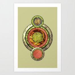 Tris Food Art Print
