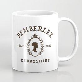 Pemberley 1813 - Pride And Prejudice - Jane Austen Coffee Mug