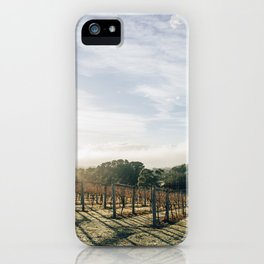 Sunny vines iPhone Case
