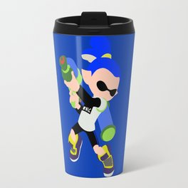 Inkling Boy (Blue) - Splatoon Travel Mug