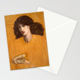 Dante Gabriel Rossetti, The Lady of Pity, 1881 Stationery Cards