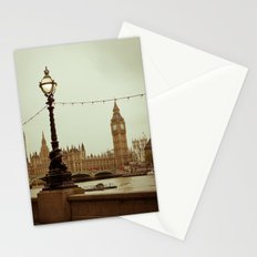 The old clock Stationery Cards