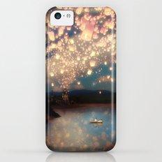 Love Wish Lanterns iPhone 5c Slim Case