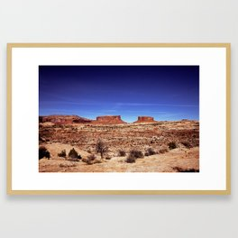 Moab Framed Art Print