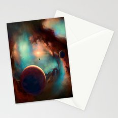 Planets unknown road trip Stationery Cards