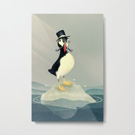 Lord Puffin Metal Print