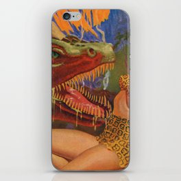 Dinosaur attack! iPhone Skin