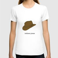 indiana jones T-shirts featuring Indiana Jones by Illustrated by Jenny