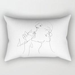 A glass of water Rectangular Pillow
