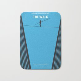 No796 My The Walk minimal movie poster Bath Mat