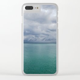 Sunny Thunderstorm Clear iPhone Case