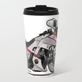 Yamaha XJ650 Seca Turbo Caricature Travel Mug