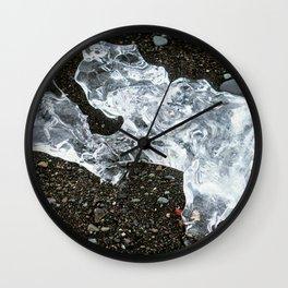 Ice Diamond Wall Clock