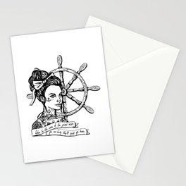 Sailor Woman Stationery Cards