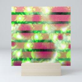 Stained slats (light) Mini Art Print