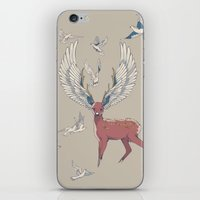 freedom iPhone & iPod Skins featuring Freedom by Huebucket