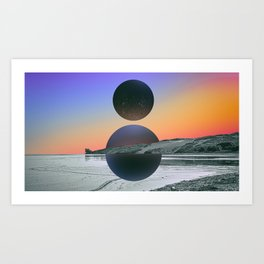 Travel_01 Art Print