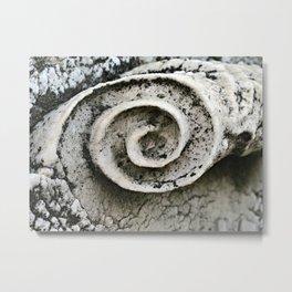 Spirals Metal Print