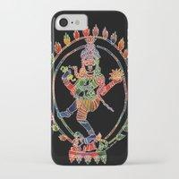 shiva iPhone & iPod Cases featuring Shiva Nataraja by Jessica Beth Sporn