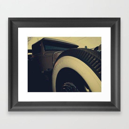 Row 1 Framed Art Print