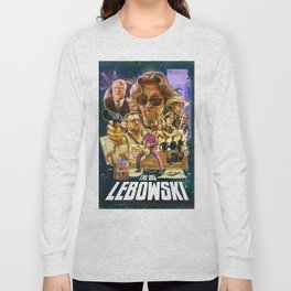 Lebowski Star War Poster Long Sleeve T-shirt