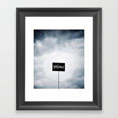 Viens ! Framed Art Print