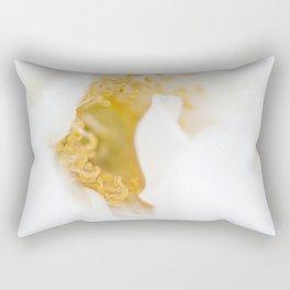 White Bliss Rectangular Pillow