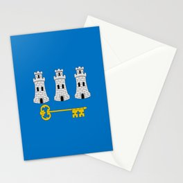 Flag of La havana Stationery Cards