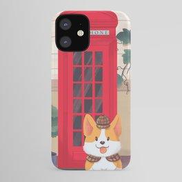 Britain London Corgi iPhone Case