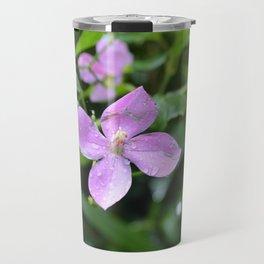 Little Purple Flower, Hawaii Travel Mug