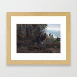 Loisirs Framed Art Print