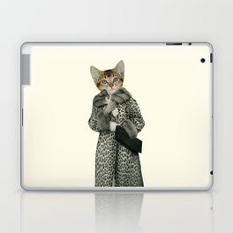 Kitten Dressed as Cat Laptop & iPad Skin