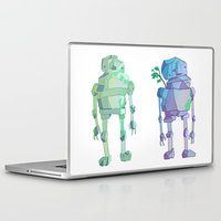 giants Laptop & iPad Skins featuring Stone Giants by Emily Joan Campbell