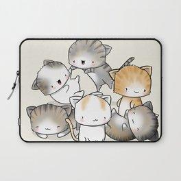 Cute Kitty Doodle Laptop Sleeve