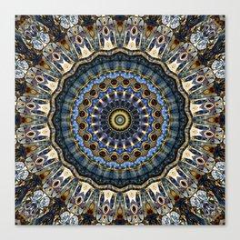 Mandala Porto Canvas Print