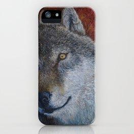 Wolf (Canis lupus) iPhone Case
