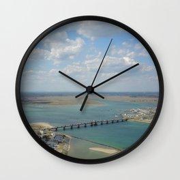 Bridge To Hampton Wall Clock