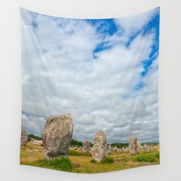 Carnac Stones Wall Tapestry