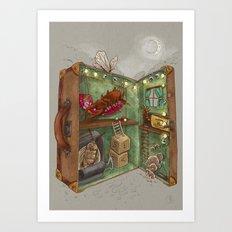 One man's trash - Home Sweet Home Art Print