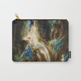 """Gustave Moreau """"La fée aux Griffons (The Fairy with Griffons)"""" Carry-All Pouch"""