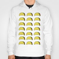 taco Hoodies featuring Taco Party by Leah Flores