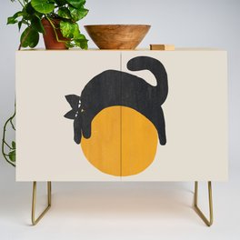 Cat with ball Credenza