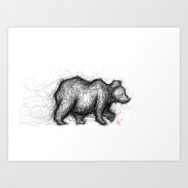 The Bear Necessities Art Print