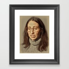 i.am.nerd. :: lauren s. Framed Art Print